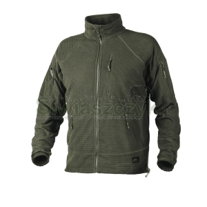 Bluza HELIKON- TEX Alpha Tactical Grid Fleece Olive Green