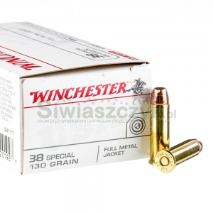 Amunicja WINCHESTER 38 Special FMJ 8,4g (130gr)