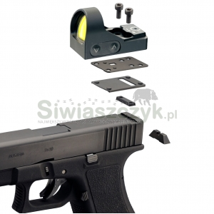 Montaż MiniDot HD do Glock 9 mm (DO-2823)