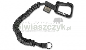 Smycz do broni CETACEA TACTICAL Poly-Bina Covered Mini Coil Tether (TA-MCT2-BLK)
